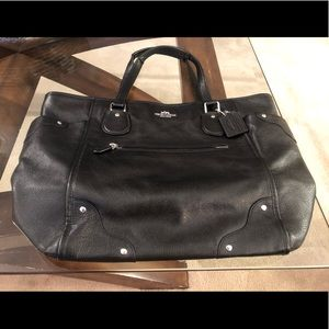 COACH- Black Mickey Tote - EUC